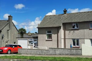 Two bed semi detached house